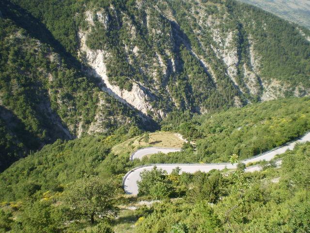 Westanfahrt: Nette Streckenführung.