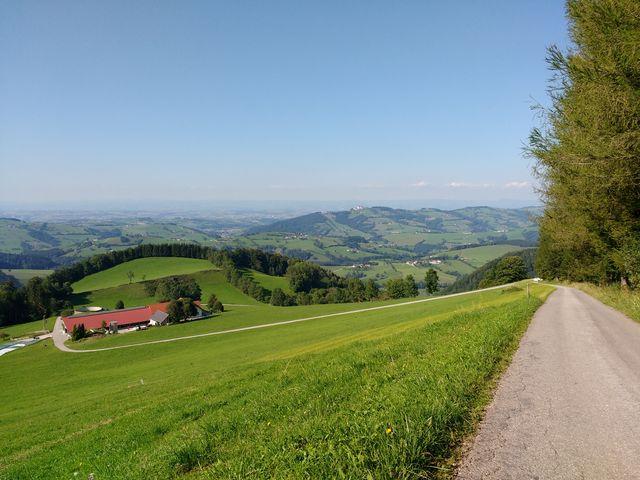 Blick Richtung Amstettner Tiefebene mit Sonntagberg