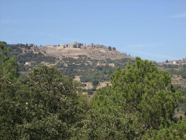 Albarca von Süden aus gesehen.