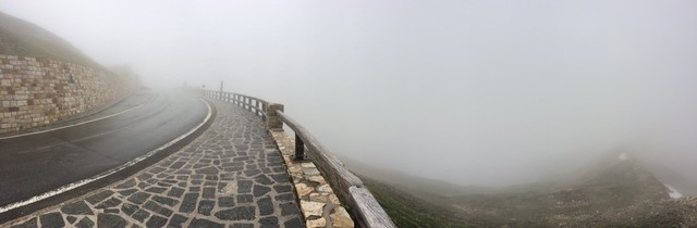 Panorama für Götter.