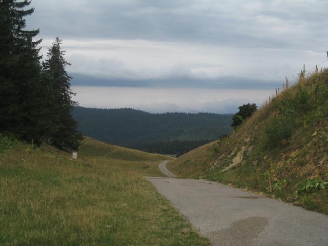 Blick Richtung Valserine-Tal