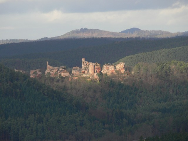 Ruine Altdahn.