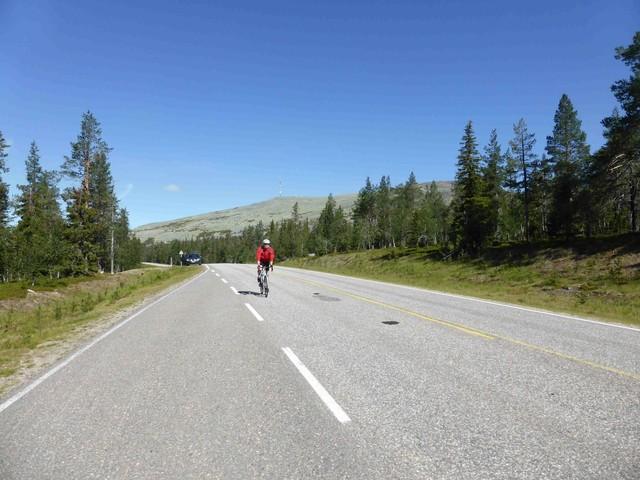 Ventoux kleiner Bruder in Lapplands Norden.