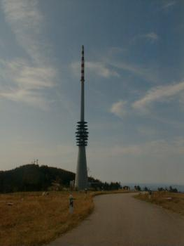 Der Sendeturm des SWR auf der Hornisgrinde.Armin Kübelbeck