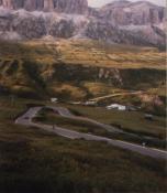 Die �stlichen Serpentinen zum PordoiItalien 1999