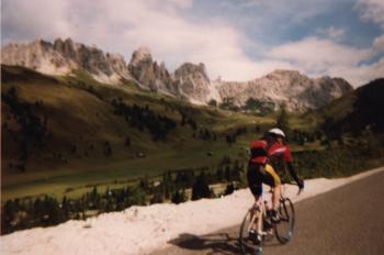 Tobif�hrt zum Gr�dnerjochItalien 1999