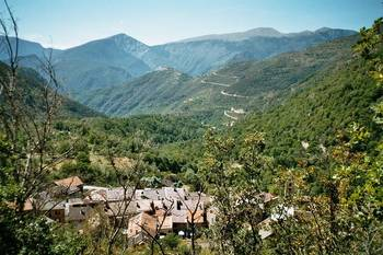 Blick zurück Richtung Val de Tinée von der Westrampe des __[Col St. Martin|416]
