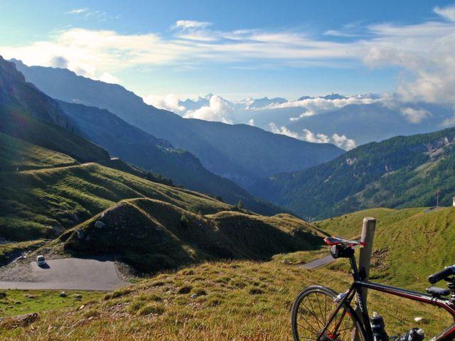 großartige Landschaft mit prächtigen Ausblicken.