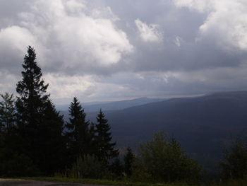 Blick nach S�den zum Nationalpark �umava.