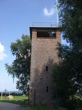 Der Ludwig-Keller-Turm.