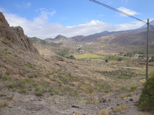 29.Mirador de Barancar 2010, ich kam aus Masca und blicke Richtung Buenavista.