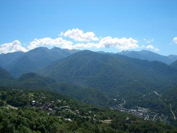 Chioula von Ax les Thermes. Blick Richtung Andorra