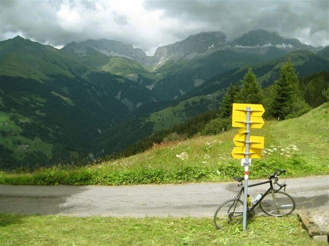Stelserberg, Blick in den Rätikon, ein Wander- und Kletterparadies