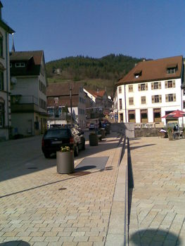 Der Start in Hornberg