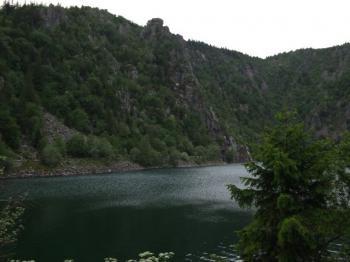 Ostanfahrt: Der Lac Blanc.