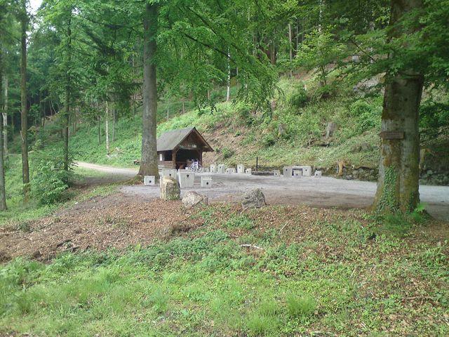 Anfahrt Waldulm: Zielpunkt Grillplatz Blaubronn