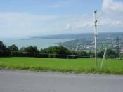 Immer wieder gute Aussicht auf die Insel Lindau...