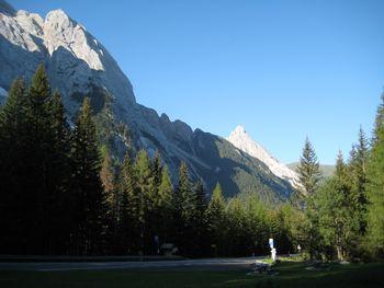 Westauffahrt Passo Fedaia