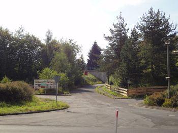 Start der Nordwestauffahrt in Suhl-Heinrichs.