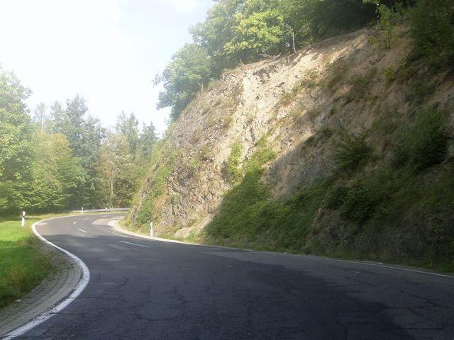 Schöner Abschnitt samt Felsen