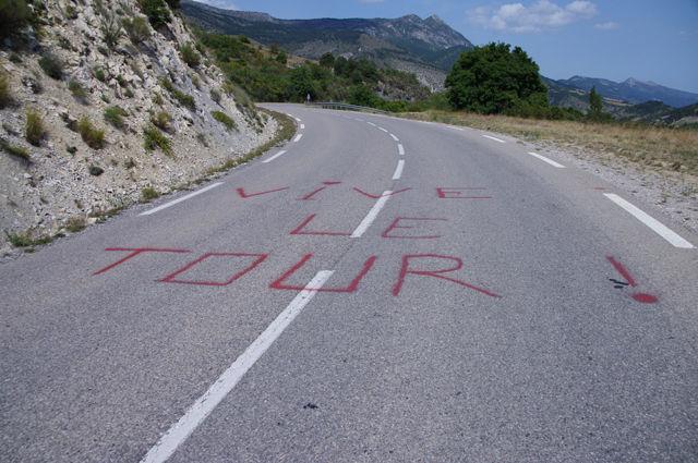 Auch die Tour de France kam hier vorbei
