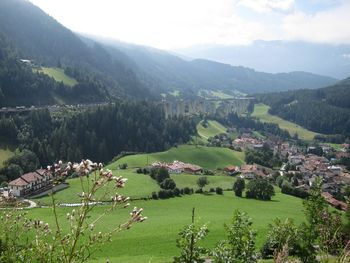 Blick Brennerradweg Eisacktal.