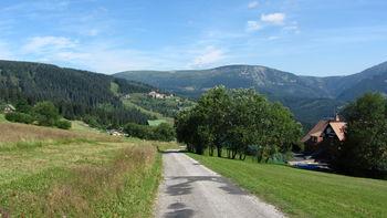 Nordanfahrt: Studniční hora.