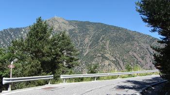 Südseite: Blick auf Pic Carroi.