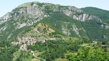 Passo delle Radici Südwestauffahrt Sassorosso.