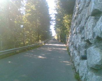 Steiler Einstieg nach Unterbort.