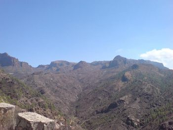 Pico de las Nieves - Impressionen auf dem Weg nach Ayacata.