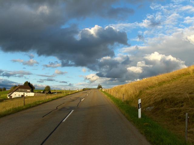 Das letzte Steilstück kurz hinter Hofsgrund.