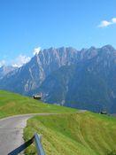 der steilste Teil hinter Bannberg mit sch�nem Blick zu den Lienzer Dolomiten