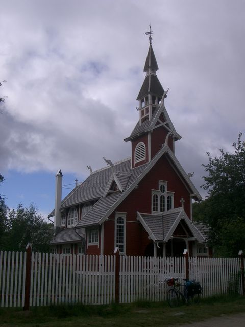 Stabkirche Neiden.