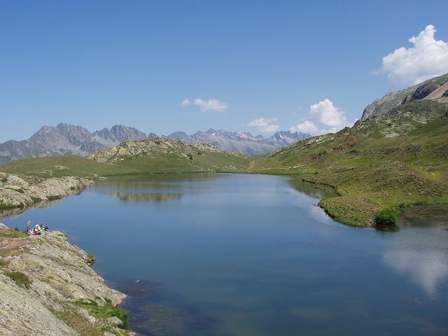 Am malerischen Lac Besson.