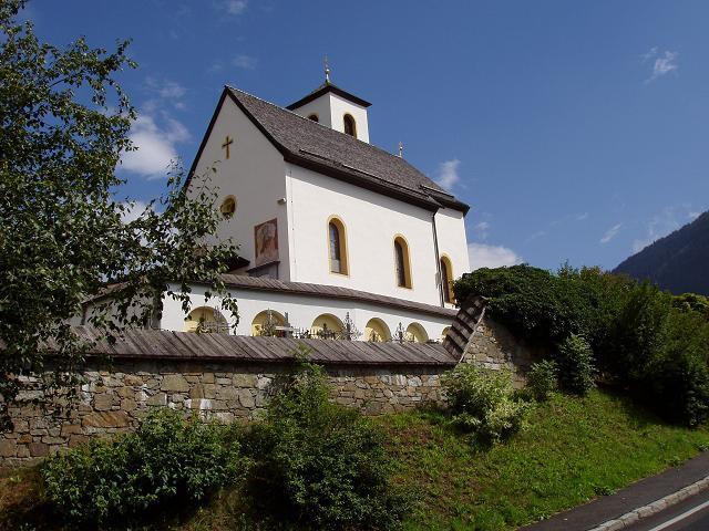 Die Kirche von Iselsberg.