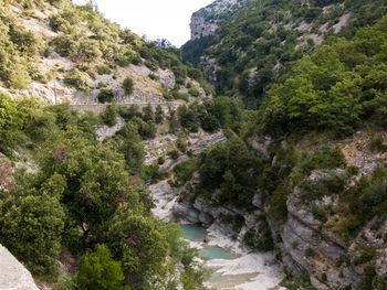 Die Gorges des Toulourenc...