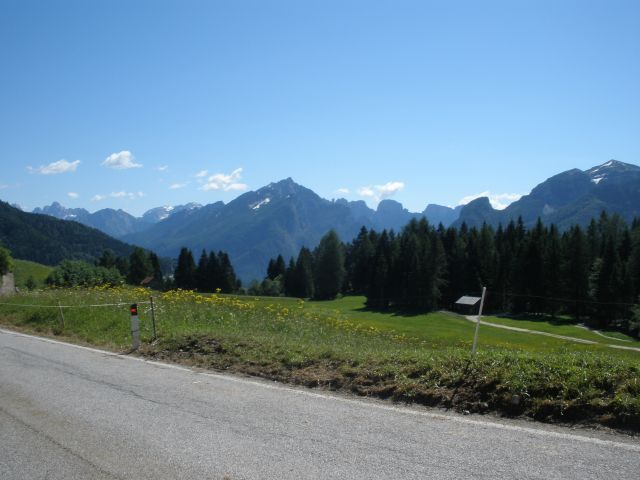 Schöne Dolomitenlandschaft.