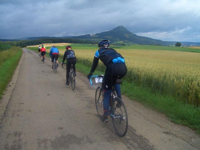 Etappe 5 07 - 08.07.2009. Weiterfahrt durch die Hegauvulkane