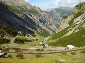 -Steht der Auffahrt von Prato in nichts nach, die s�dliche Variante von Bormio.
