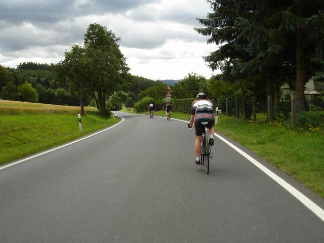 Bei der 2. quaeldich.de-dopingfrei-Tour Thüringen 2009.
