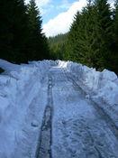 Im April 2009 war auf gut 900 Metern Schluss.