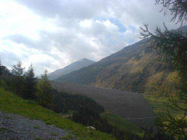 Der Staudamm ist bald erreicht