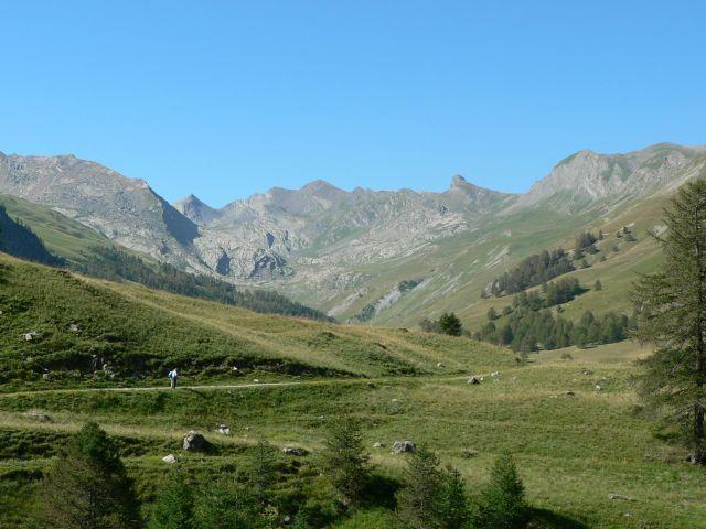 einsame Berglandschaften.