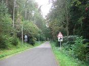 Ortsende Elgersburg.