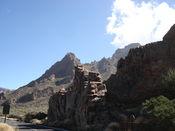 Hier am Boca de Tauce beginnen die Ca�adas und der Teide Nationalpark.