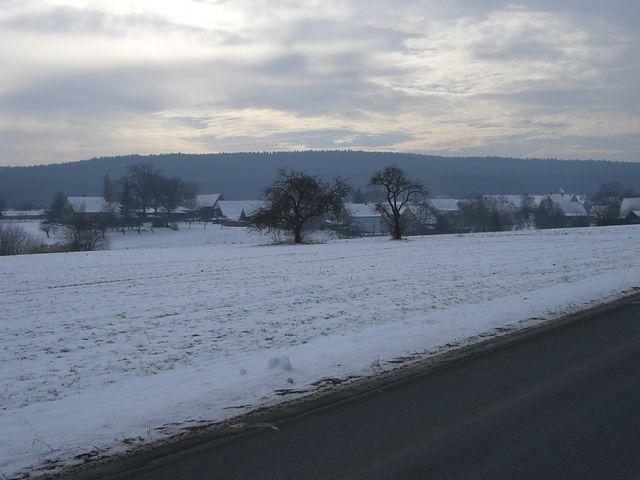 Der Dillenberg von weitem.