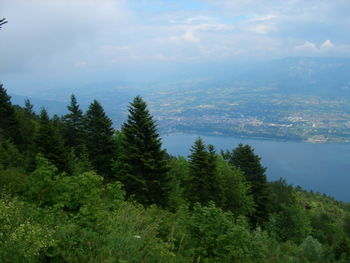 Mont du Chat  - Lac de Bourget.