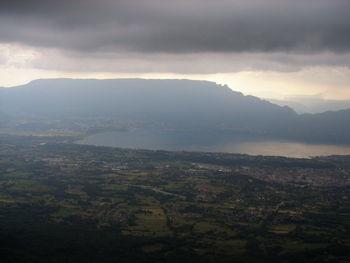 Mont du Chat  - vom Mt Revard aus gesehen.