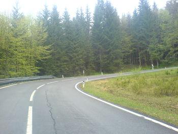 Weitere Kurve kurz vor der Passhöhe